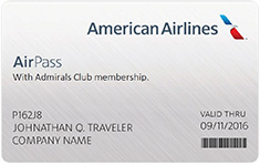 American Airlines AirPass