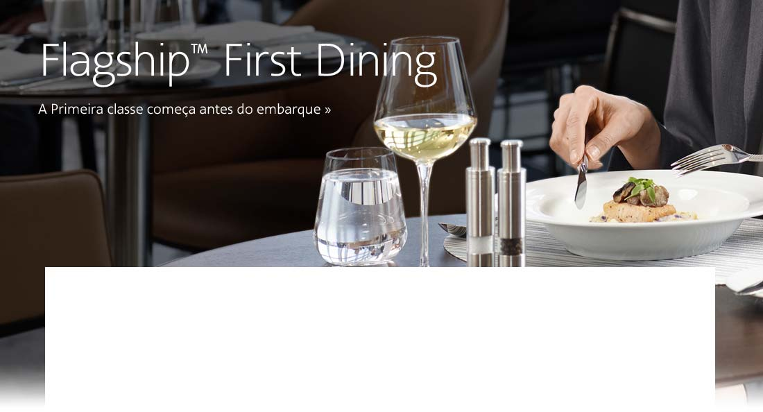 Flagship First Dining