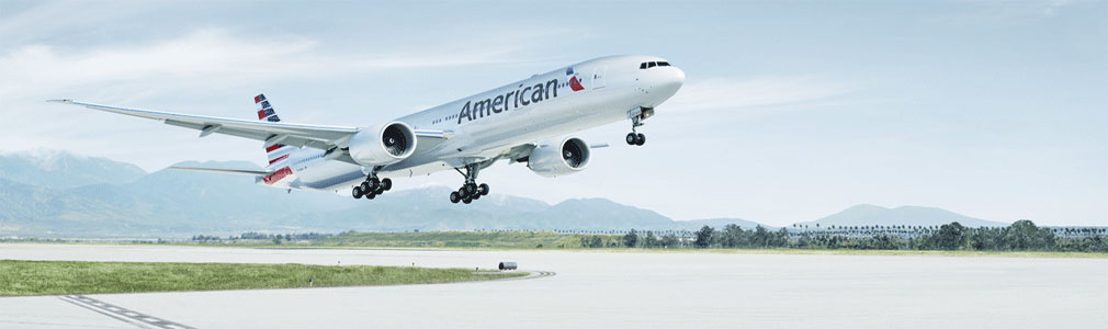 American Airlines 777-300 aircraft