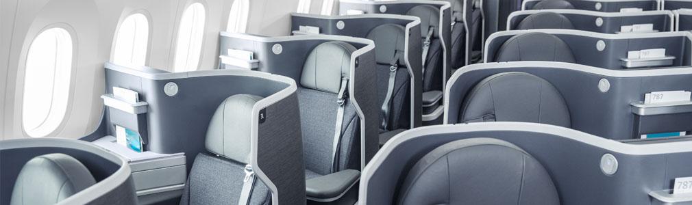 Flagship Business Lie Flat Seats