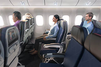Image of seats on board